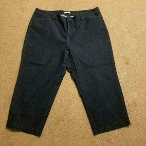 EUC Dockers Women's Capri Pants 18W